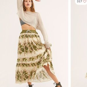 Spell & The Gypsy Coco Lei Maxi Skirt